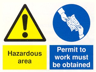hazardous work permit