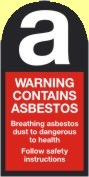 Warning Contains Asbestos
