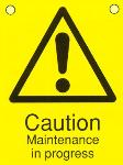 Caution Maintenance in progress
