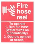 Fire hose reel To operate