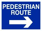 PEDESTRIAN ROUTE RIGHT