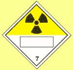 RADIOACTIVE UN substance number (7)