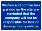 Visitors and contractors parking..